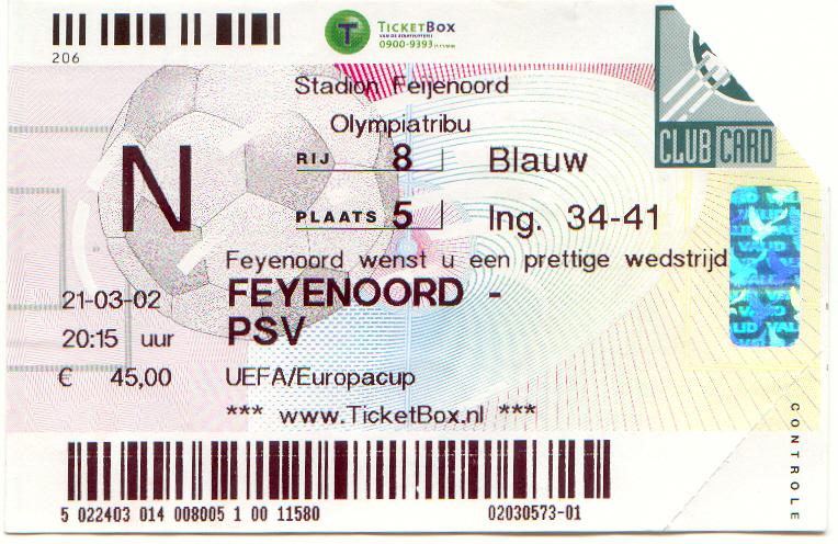 Feyenoord-psv (UEFA)