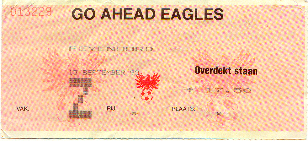go ahead eagles-Feyenoord
