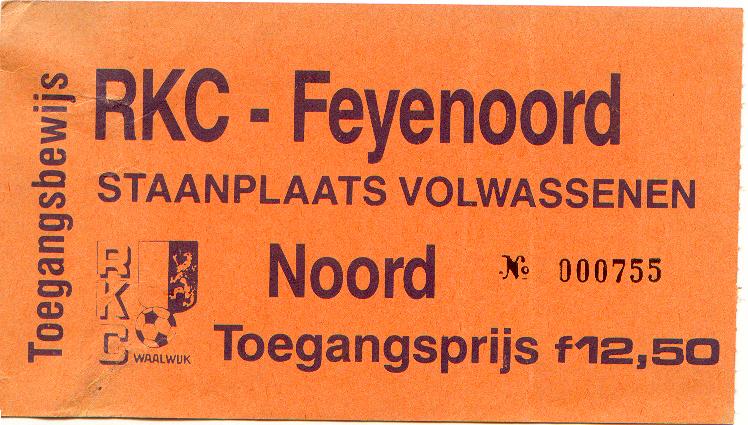 rkc-Feyenoord