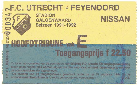 utrecht-Feyenoord