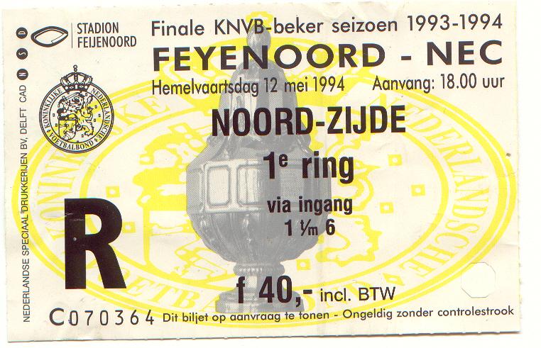 Feyenoord-nec (KNVB)