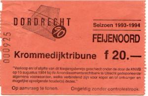 dordrecht'90-Feyenoord