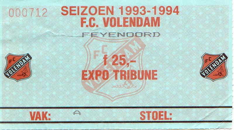 volendam-Feyenoord