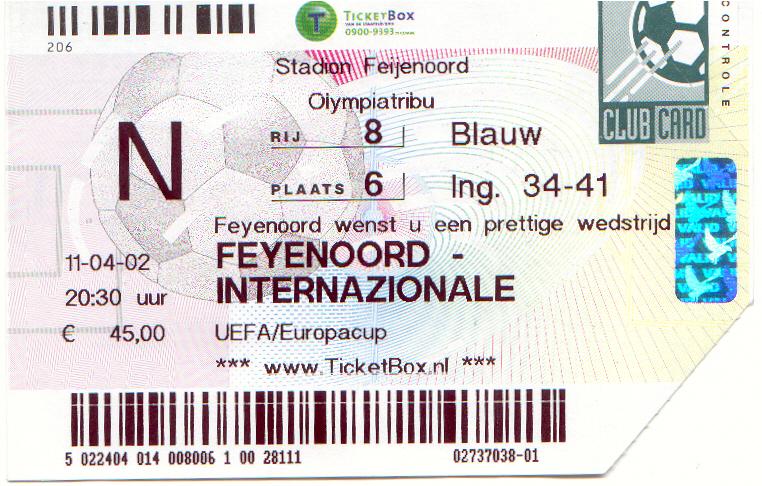 Feyenoord-internazionale (UEFA)