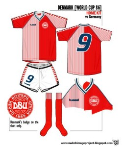 Denmark WC1986 Home Alternate